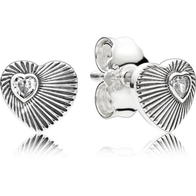 boucle d oreille pandora coeur