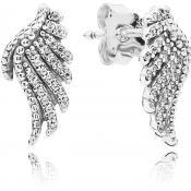 Boucles d'oreilles Pandora Plumes Majestueuses 290581CZ - Boucles d'oreilles