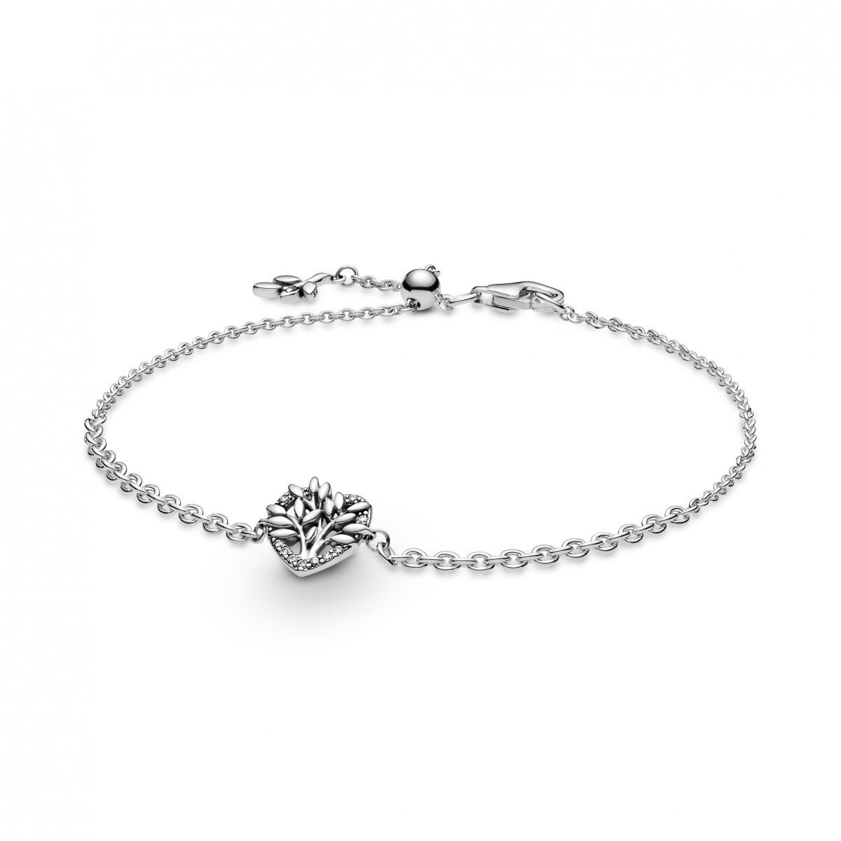 Bracelet Chaîne Cœur Arbre de Vie 599292C01 Pandora Bijoux sur ...