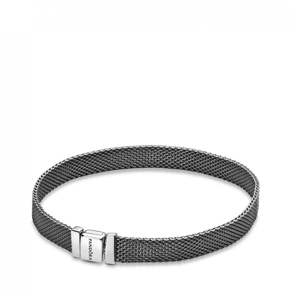 Bracelet Pandora 598400C00 - Réflexions Argent oxyde Femme