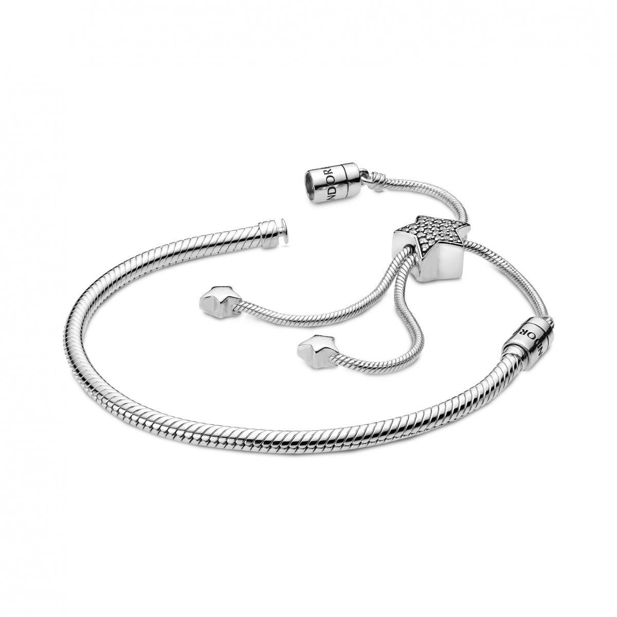 bracelet coulissant pandora