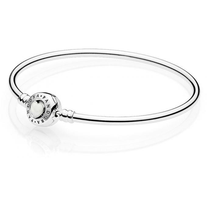 Bracelet Pandora Moment 590746EN23 , Bracelet Coeurs de l\u0027Amour Femme