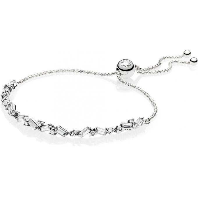 Glaciale 597558cz Plus Bracelet Beauté Femme Pandora D'infos Coulissant jUVpSzGLqM