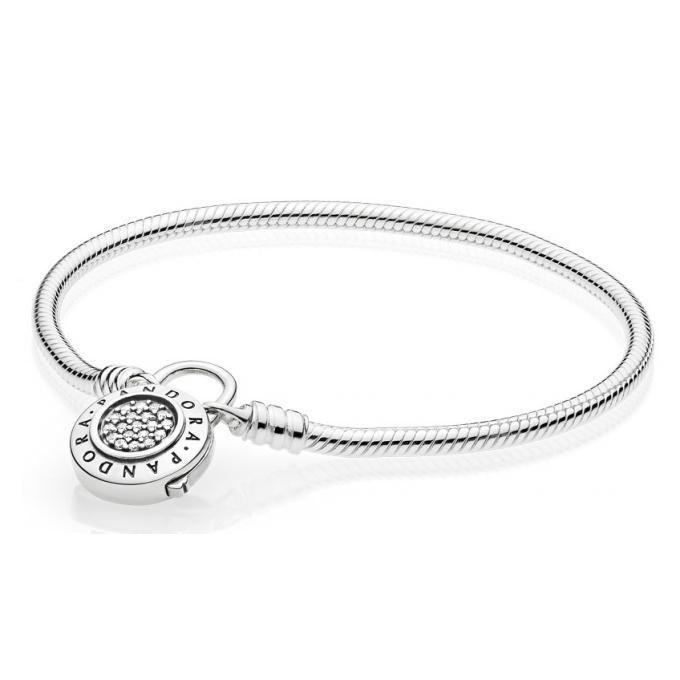 bracelet en argent femme pandora