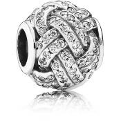 Charms Pandora Noeud d'Amour Scintillant 791537CZ - Famille et Amis