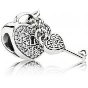 Charms Pandora Amour Argent 791429CZ - Moments de Vie
