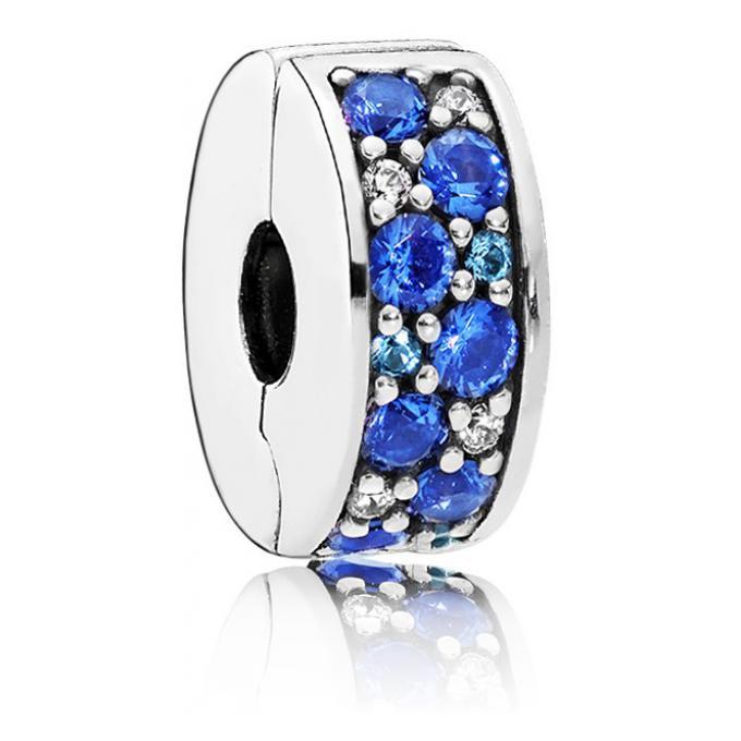 bracelet pandora charms bleu