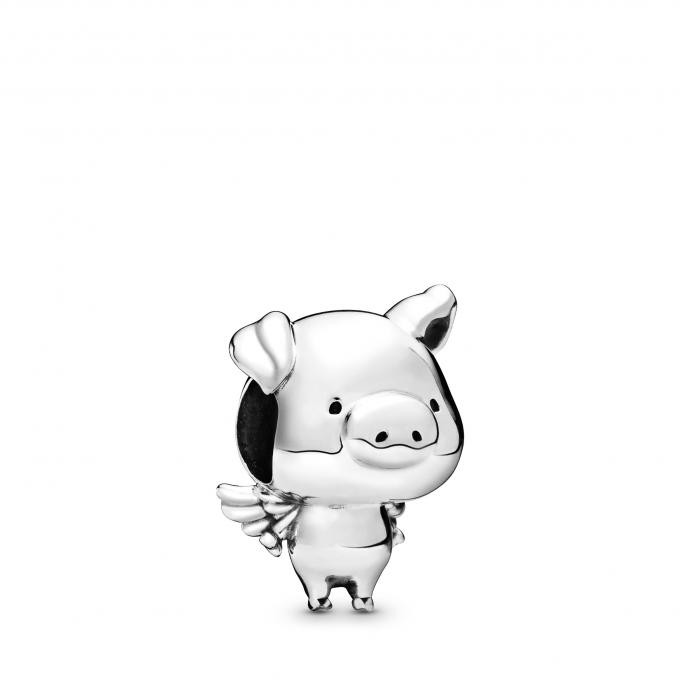 Charms Pandora 798253 - Pippo le Cochon Volant Argent