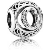Charms Pandora C Ancien 791847CZ - Alphabet