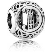Charms Pandora D Ancien 791848CZ - Alphabet