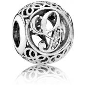 Charms Pandora G Ancien 791851CZ - Alphabet