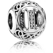 Charms Pandora I Ancien 791853CZ - Alphabet