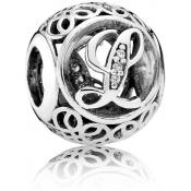 Charms Pandora L Ancien 791856CZ - Alphabet