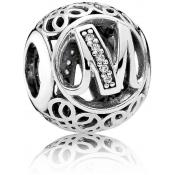 Charms Pandora M Ancien 791857CZ - Alphabet