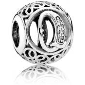 Charms Pandora Q Ancien 791861CZ - Alphabet