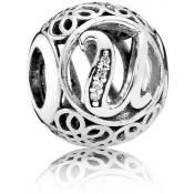 Charms Pandora U Ancien 791865CZ - Alphabet