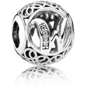 Charms Pandora W Ancien 791867CZ - Alphabet