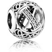 Charms Pandora X Ancien 791868CZ - Alphabet