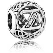 Charms Pandora Z Ancien 791870CZ - Alphabet