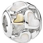 Charms Pandora Coeurs Lumineux 791879MOP