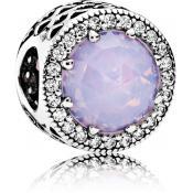 Charms Pandora Coeurs Rose Ajourés 791725NOP - Conte de Fees