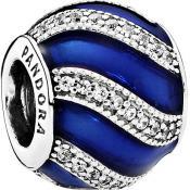 Charms Pandora Parure Bleue 791991EN118 - Conte de Fees