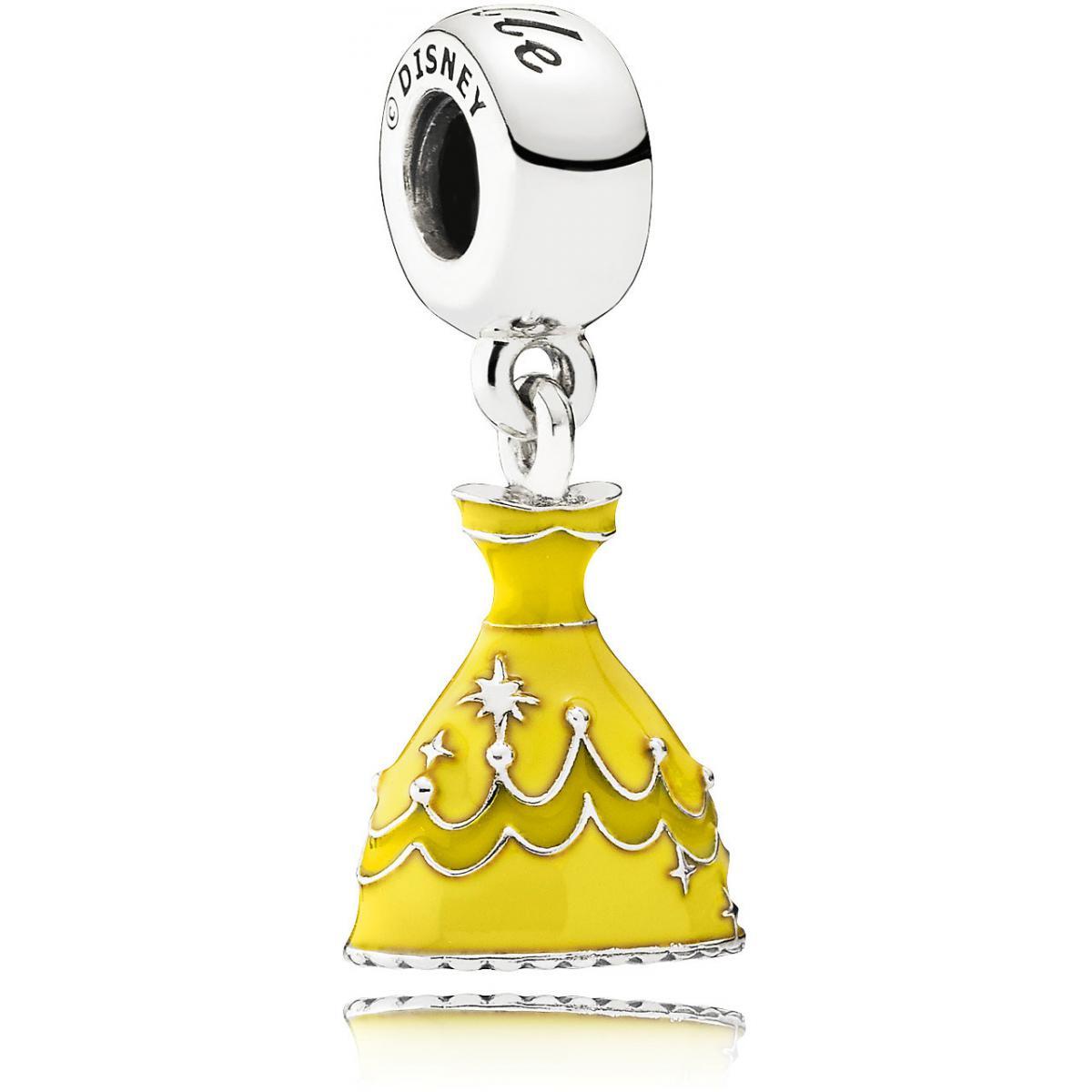 charms pandora jaune