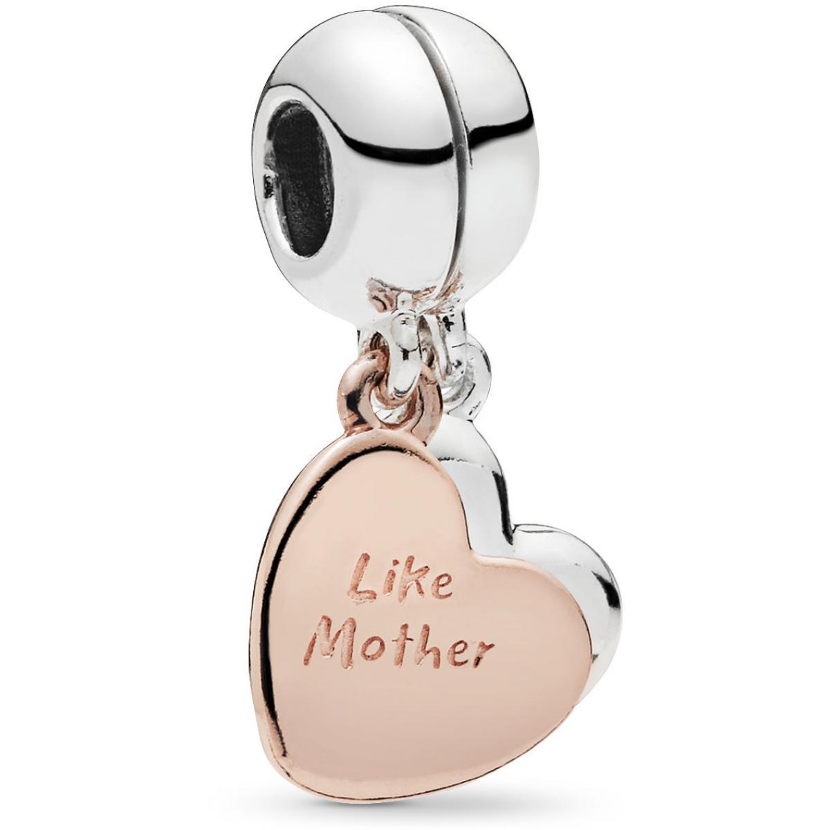 Charms Pandora Famille et Amis 787783EN16 - Mère et Fille en Pandora Rose