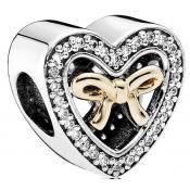 Charms Pandora Unis par l'Amour 791875CZ