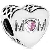 Charms Pandora Coeur d'une Mère 791881PCZ