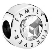 Charms Pandora Family Forever 791884CZ - Famille et Amis