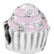 Charms Pandora Irrésistible Cupcake 791891EN68 - Famille et Amis