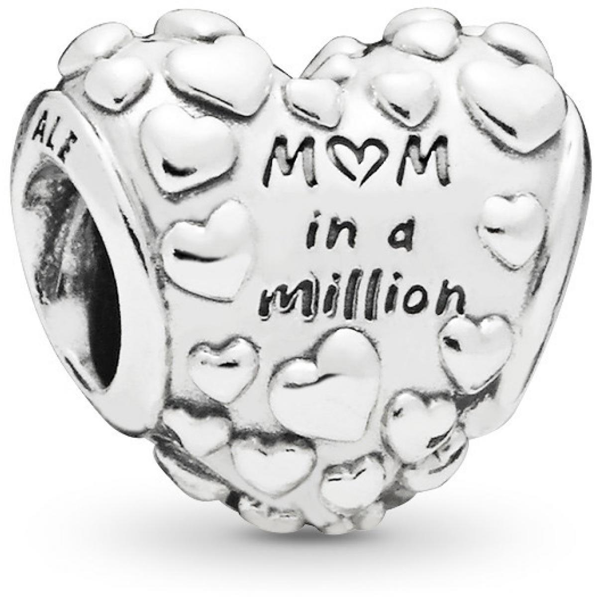 Charms Pandora Famille et Amis 797781CZR - Maman Exceptionnelle en Argent