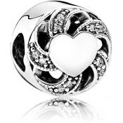 Charms Pandora Rubans de l'Amour 791976CZ - Moments de Vie