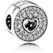 Charms Pandora Anniversaire 791977CZ - Moments de Vie