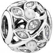 Charms Pandora Feuilles Lumineuses Ajourées 791754P