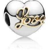 Charms Pandora Clip Coeur de l'Amour 791735