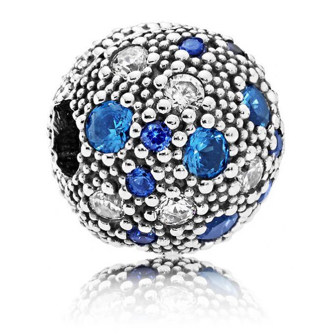 charm bleu pandora