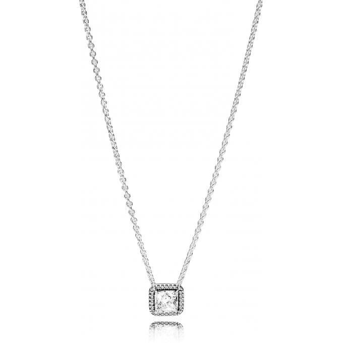 bonne réputation le moins cher prix abordable Collier Pandora 396241CZ - Collier Élégance Intemporelle Femme Plus d'infos