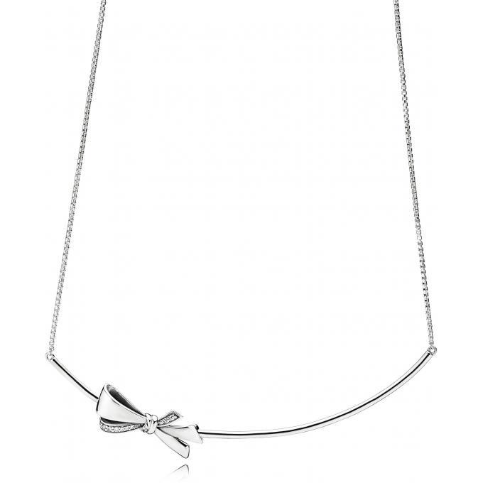 collier pendentif pandora 397233cz collier noeud. Black Bedroom Furniture Sets. Home Design Ideas