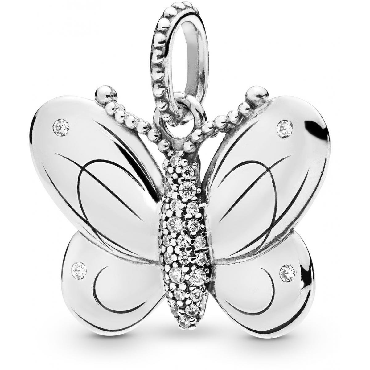 pandora clip papillon