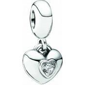 Charms Pandora Charm Coeur Strass 791244CZ