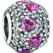 Charms Pandora Charm Coeur Rose 791249CZS
