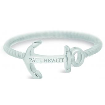 Paul Hewitt Bijoux - Bague Paul Hewitt PH-FR-ARO-S - Bague Anchor Rope Acier Femme - Promotion paul hewitt