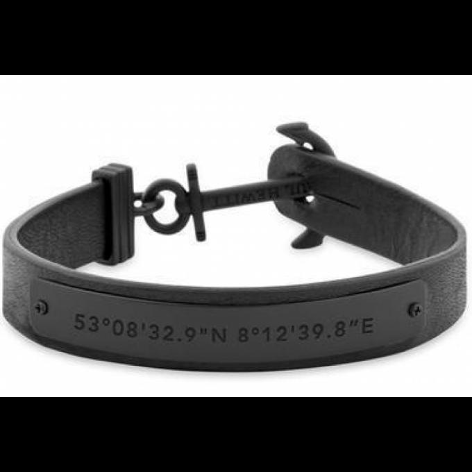 lacer dans 100% de satisfaction dernier Bracelet Paul Hewitt Bijoux PH-MSC-B-B - Bracelet Cuir Noir Mixte Plus  d'infos
