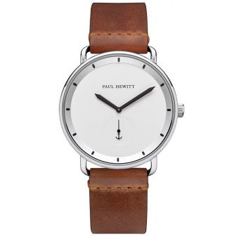 Paul Hewitt - Montre Paul Hewitt PH-BW-S-W-57M - Montre Homme Cuir