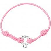 Bracelet Pierre Lannier Bijoux Cordon Rose Tendance JC98A280