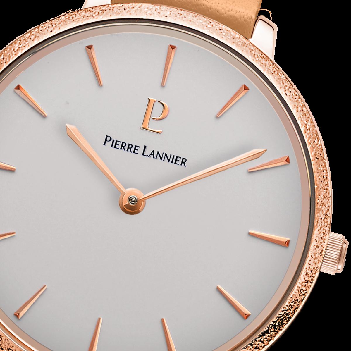 montre femme rose gold bracelet cuir