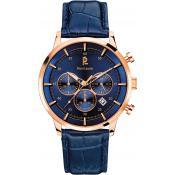 Montre Pierre Lannier Montres Multifonction Bleue 225D466