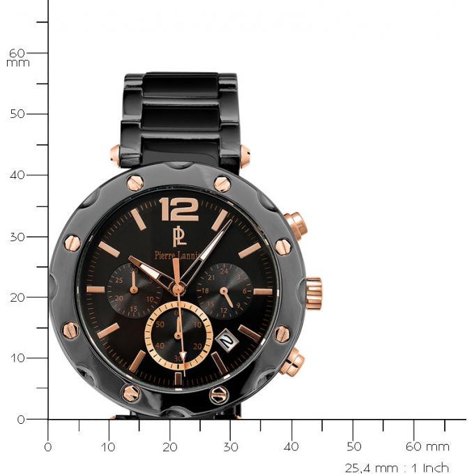 Montre Pierre Lannier 278C439 - Montre Chronographe Or Rose Homme ... 04265603a38